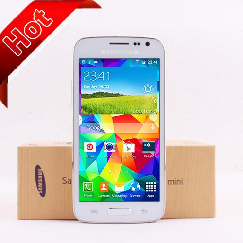"""Nuovo mini s5 3g cellulare 4,5""""android 4.4 mtk6572 dual core 256 MB di RAM camera 5,0 mp"""