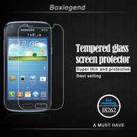 For Galaxy Core I8260 I8262 Tempered glass screen protector  HD clear film ultra thin guard Anti-Bubble Crystal Shield