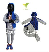 2014 new children sport suit 2 pcs set children cloth brand children clothing sport set children autumn set kids suits 5sets/lot
