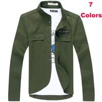 Handsome men jackets new casual coat autumn winter men jacket fashion mandarin collar slim Men's Clothing>>Coats >>Jackets