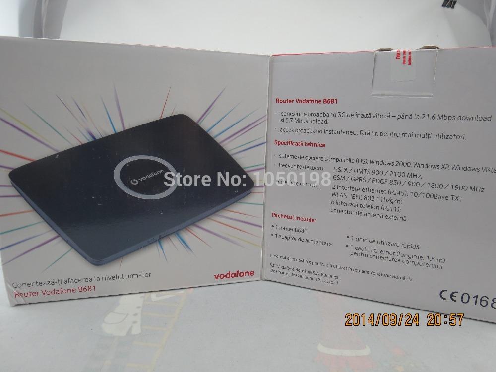 HUAWEI B681 Router Wireless MODEM 3G HSPA+ 28Mbps WiFi LAN RJ11 SMA MiFi TV B683(China (Mainland))