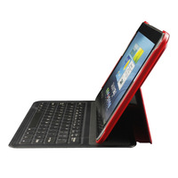 5mm Ultra-thin Aluminum Wireless Bluetooth Keyboard Leather Stand Case Cover for Samsung Galaxy Tab2 P5100 P5110