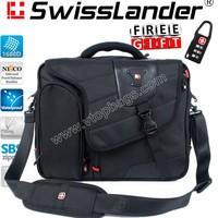 SwissLander,Swiss,briefcases for laptops 15.6 inch,men's laptop handbag,computer tote bags, messenger bag for macbook 7312