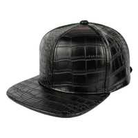 Crocodile leather hat ALLIGATOR LEATHER BASEBALL CAP Best Quality Strapback Fashion Streetwear Customized Cap Unisex Newest 2014