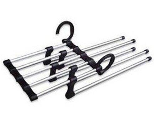 Free Shipping, We Best, Magic Trousers Hanger/Metal Rack Multifuncti