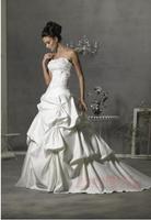 Tube top train 2014 top slim wedding dress train new arrive wedding gown