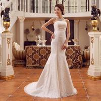 fish tail wedding dress tube top tube top paragraph slim princess straps lace wedding dress short trailing