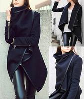 New 2014 Winter Coat Hot Sale New Casacos Femininos Casaco Feminino free Shipping Spring Coat Women Fashion Trench Jacket  E 42
