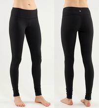 Spedizione gratuita ems expess tassa, yoga donne indossano, marchio canada Wunder sotto i pantaloni, 2 colori bianco e nero/bianco