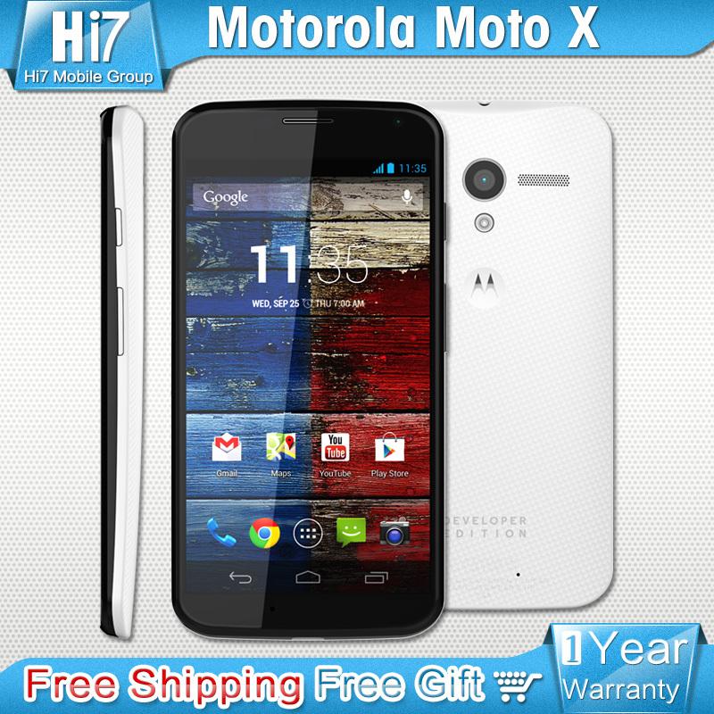 Original Motorola Moto X XT1058 Dual core Android 4.2 10MP Camera 16G ROM Unlocked GSM HSDPA LTE Phone Free ShipPing(China (Mainland))