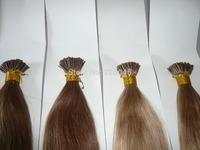 "18"" 20"" 1g/s 100g/pk Indian Remy Human stick hair I tip hair extensions #blue #red #newgreen #pink #orange #yellow #99j #burg"