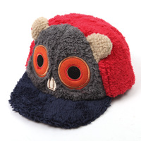 2013 Winter new cartoon owl plush hat lady hat baseball cap wholesale Yiwu