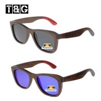 Brown Skateboard Wooden Sunglasses Men Nerd Vintage Retro Polarized Sunglass Women Brand Designer Coating Oculos De Madeira