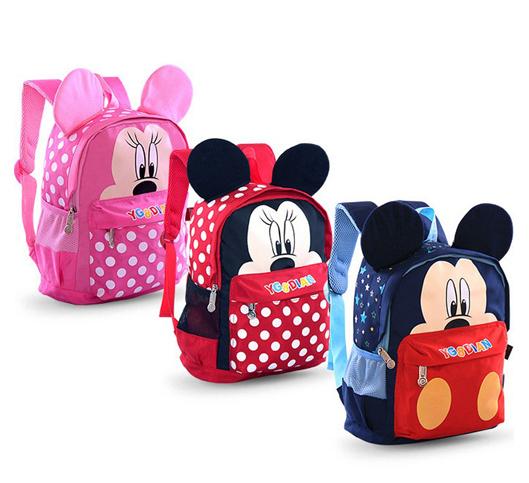 Kid Girls Boys Cartoon School Bags Children Backpacks Schoolbag High Quality Shoulder Bags(China (Mainland))
