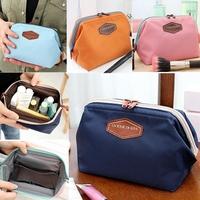 2014 New Cute Women Lady Travel Makeup bag organizer case Cosmetic pouch Clutch Handbag Casual Purse Maleta De Maquiagem P107