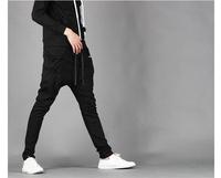 2014 New Spring&Autumn fashional mens harem pants,man's hip-hop trousers,sport pants men,justin bieber pants,minority sweatpants