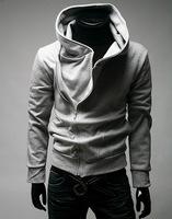 2014 new oblique zipper sweater hooded sweater lovers' clothes men sportswear hoodies men 2E169