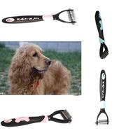 1Pcs Pet Comb Pet Hair Brush Professional Dog Cat Grooming Shedding Hair Tool Brush Comb Pet Rakes Pet Products Red/Blue E671174