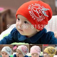 New beanie baby hat children cotton cap set of head cap wholesale bicycle wings
