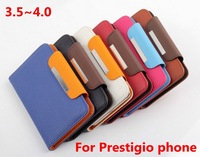 For Prestigio MultiPhone 8400 4044 4055 5400 4040 3500 3350 4020 4000 3400  DUO Wallet Flip Leather Case Phone Cover GA001