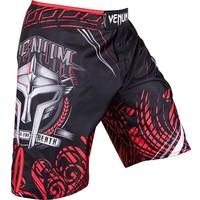 "VENUM ""GLADIATOR 3.0"" RIPSTOP FIGHTSHORTS - BLACK/RED MMA shorts"
