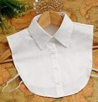 New Collares shirts women women fake false collar shirt black white blouse detachable collars cheap dropshipping