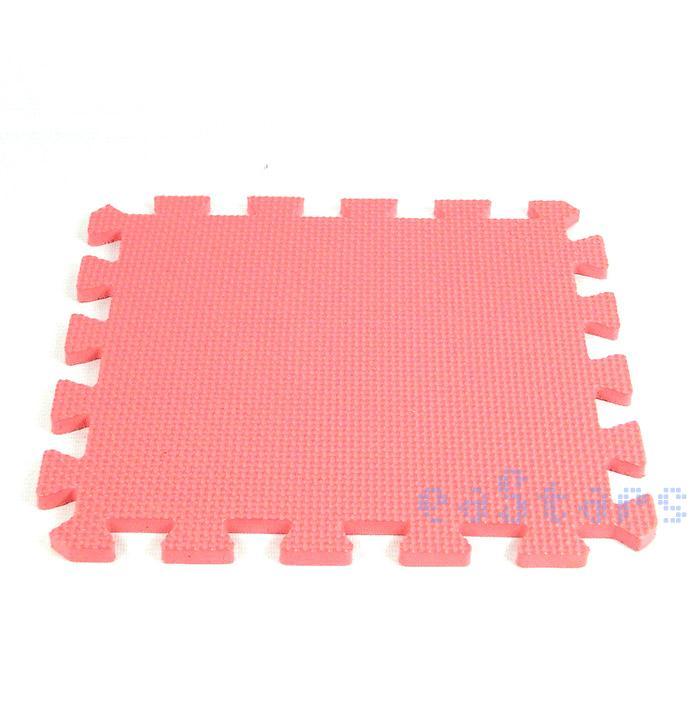 10PCS A Set Comfort Safety  Baby Sport Interlock Foam Crawling Tapete Eva Mat Seamed Rug Splice Play Floor Puzzle Mat(China (Mainland))