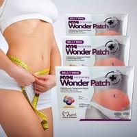Wholesale,Korea Mymi 50packs upper body +50packs lower body +50packs belly wing Wonder patch slimming paste , 150packs/lot,