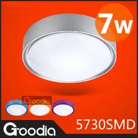 7W LED Ceiling Lights For Living room Home Decoration Ceiling Lights Kitchen Lamps AC220V Indoor Acryl Modern Ceiling Lamps