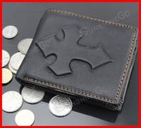 2014 Fashion Man Black Genuine Leather Wallets Man Purses Hight Qualitly WalletsWA-014,Free Shipping