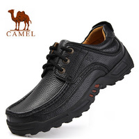 2014 new spring and autumn arrival authentic camel casual mans brand leather shoes for size 38-44 and big size of 45 46 and 47