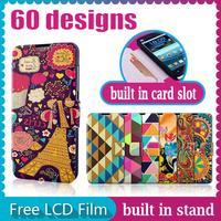 New For Xiaomi Mi2S Flip Case Mi 2S Mobile Phone Cover PU Wallet Pouch Mi 2 S Deluxe Back Cover