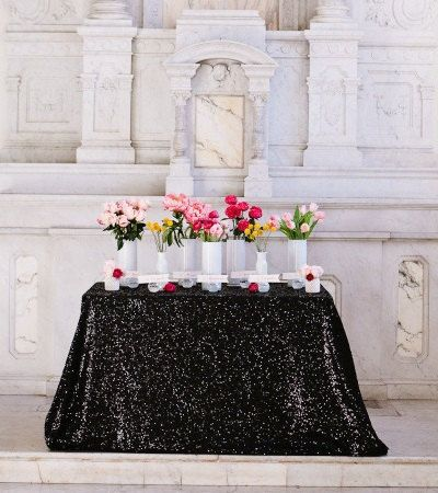 high quality blinking wedding round tablecloth Romantic impressive heart warming Gorgeous party,black table cloth,2.7m*2.7m(China (Mainland))