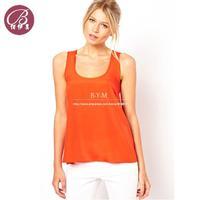 Free Shipping Plus Size M/L/XL/XXL/XXL Women 2014 Summer Sexy Halter Round Neck Vest T shirt