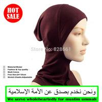 Muslim short hijab,underscarf, veil,robe,abaya,inner cap,free shipping