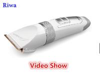 hair trimmer for men or baby  New 2014 Electric hair clipper professional titanium hairclipper hair cutting machine baber tool