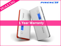 Real 10000mAh Original Pineng Power Bank PN-968 Portable Universal Powerbank Dual USB For Smartphones Tablets/Gray