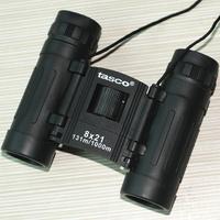 New portable BLUE membrane TASCO 8X21 binoculars  Black telescope  HD telescope