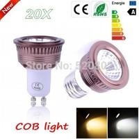 20X  Free Shipping  9W 12W 15W GU10 / E27 / MR16 / E14 / B22 warm /cold  white / Dimmable COB LED Spot Light LED Lamp Epistar