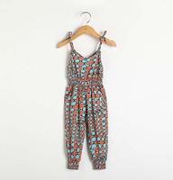 Retail spring new 2014 fashion kids children grils gifts pant topolino jumpsuit roupas de bebe baby overalls denim summer romper