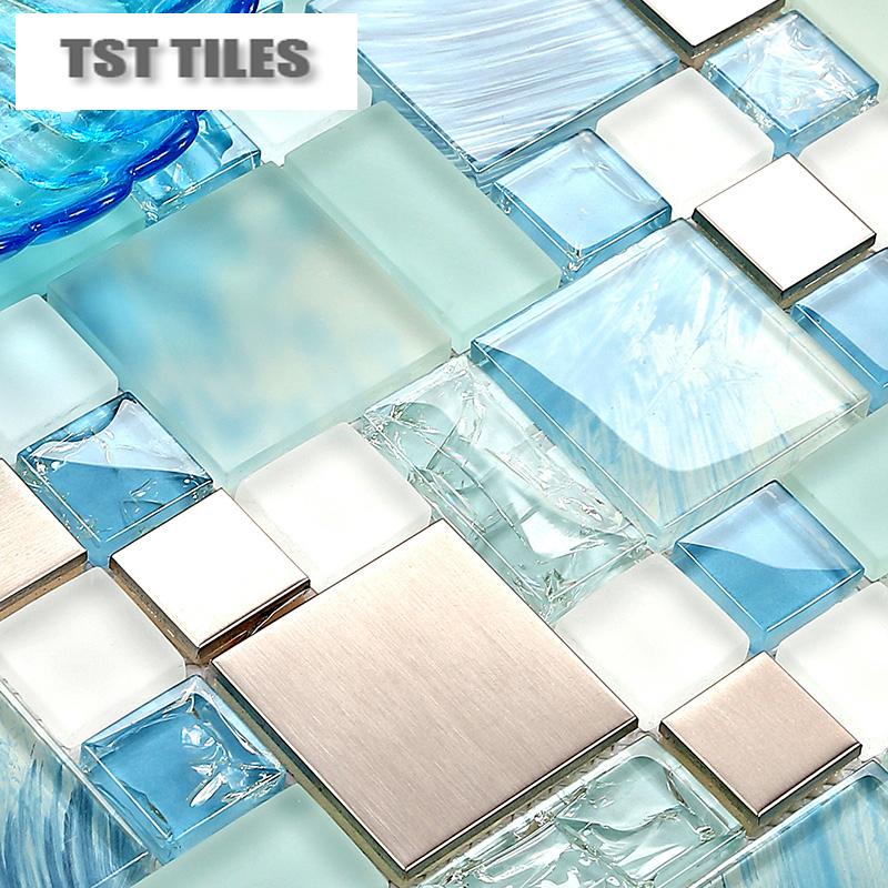 sea glass backsplash promotion online shopping for