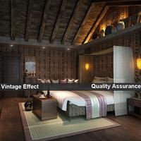 Vintage wood wallpaper for living room, PVC waterproof wall paper rolls for walls, Vinyl wallpapers roll