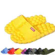 Hot Sale New 2014 Summer Women Flats Sandals and Slippers Non-slip Bathroom Slippers Home Couples Massage Slippers(China (Mainland))