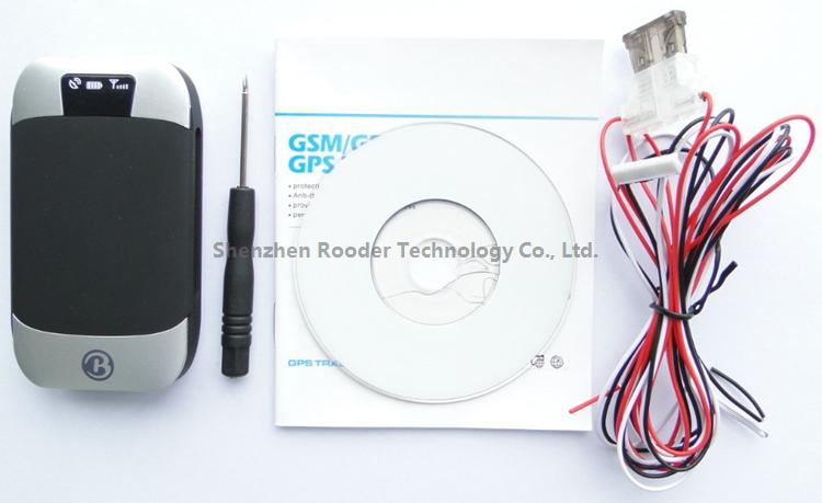 Original GPS Tracker Motorcycle Car GPS303B 4band Realtime Online Google Map Satellite Car Tracking System(China (Mainland))