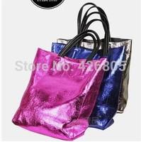 2014 new style shoulder bag metal color cracks cowhide large capacity bag Crack turtle genuine leather