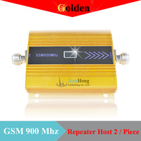 Latest design Mobile Phone Signal GSM Repeater 900Mhz Booster GSM 900Mhz Repeater Booster Amplifier Receiver 2 pcs.Free shipping
