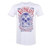 """Venum """"Santa Muerte"""" T-shirt - Ice 100% Cotton  original design inspired by one of the holy figure of the mexican culture"""