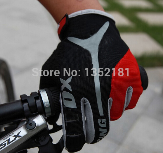 New hot sale GEL Bike Bicycle Gloves Full Finger Motocross Riding Dirt Bike BMX Cycling Biking Gloves(China (Mainland))