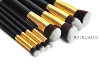 8pcs/set Professional Powder Blush Foundation Brush kabuki Makeup set Tool Cosmetic  Supplies cheap  blending make up brush sets