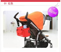 2014 New baby Animal Stroller Accessories storage bottle Diapers organizer bag handbag organizer travel bag Free shipping
